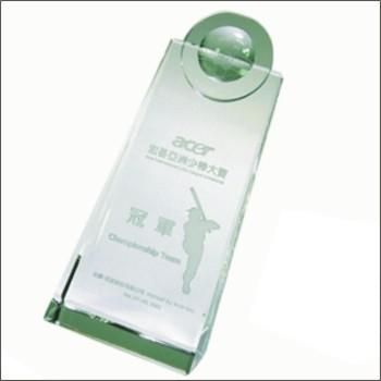 水晶 獎牌獎座─A